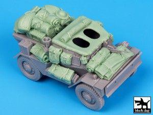 Dingo MK III Scout Car accessories set Black Dog T35061