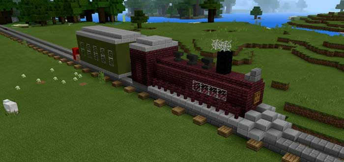 Image Result For Minecraft Small Train Station MC Pinterest - Minecraft zug spiele