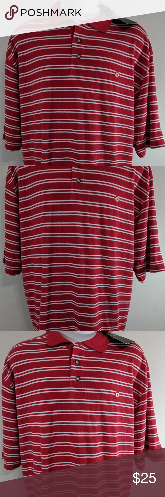 1dda15001fbe Southpole red white short sleeve stripe shirt XXL You are viewing a New  with tags men s