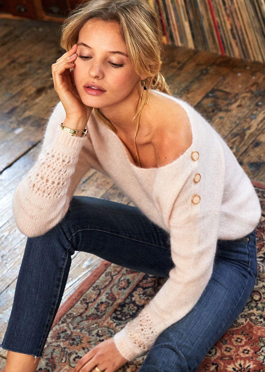 Sezane Cheryl Jumper With Images Sweater Fashion Fashion