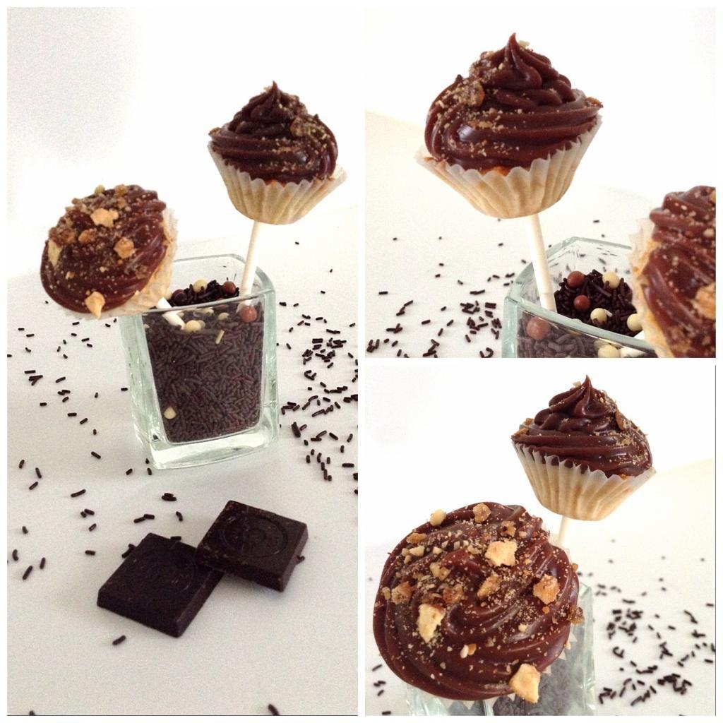 Pop cake cup cake chocolat