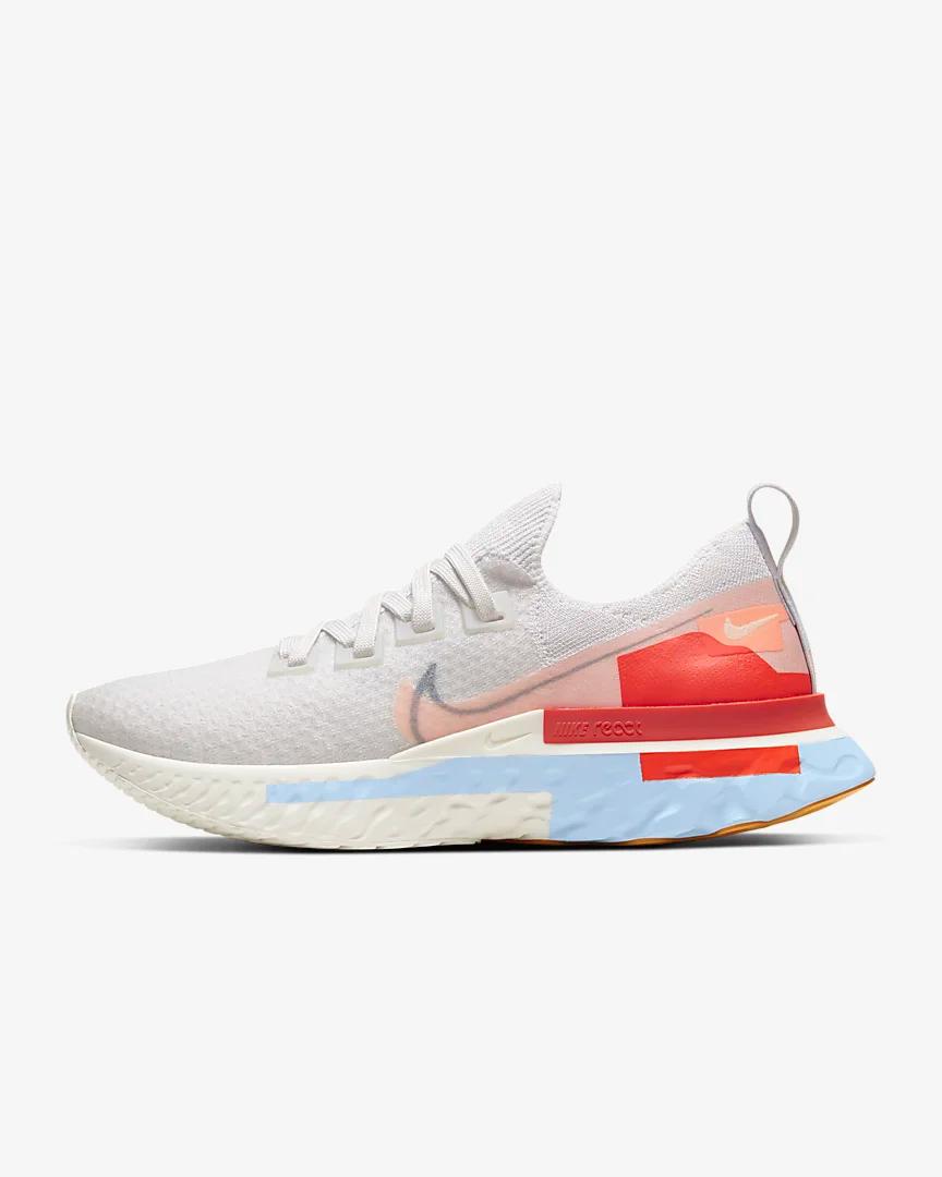 Nike React Infinity Run Flyknit Premium Hardloopschoen voor ...