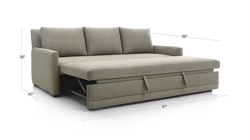 Reston Queen Trundle Sleeper Sofa Sleeper Sofa Pull Out Sleeper Sofa Sofa
