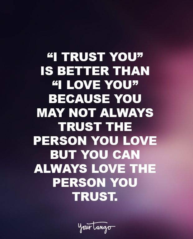 Quotes About Love And Trust 2