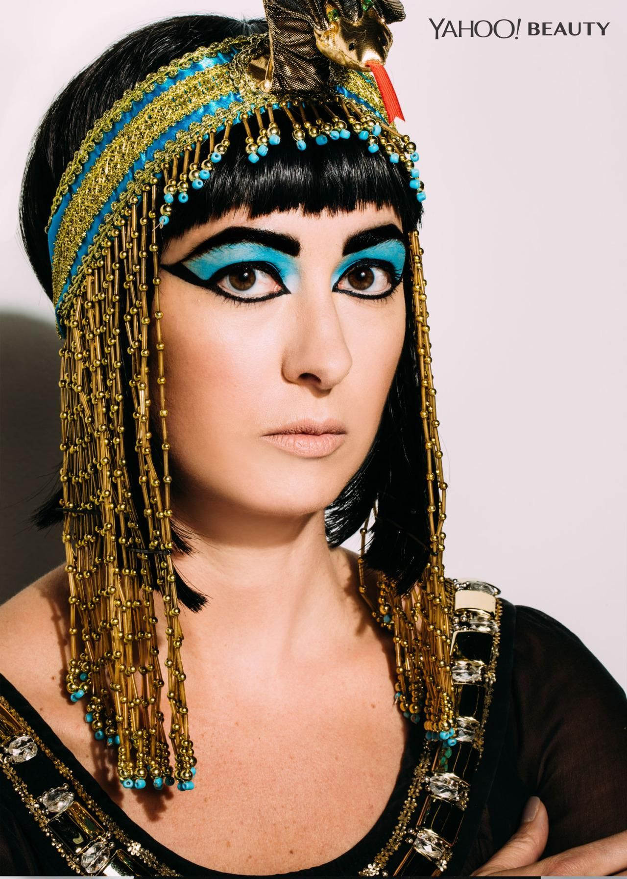 Halloween Beauty Tutorial Cleopatra, The Last Pharaoh