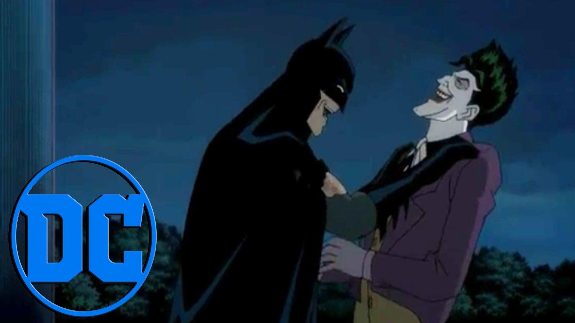 """Por que se rió Batman al final de """"The Killing Joke"""""""