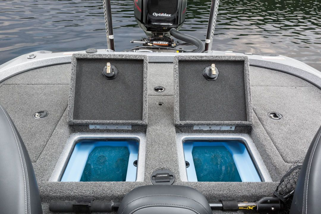 The new nitro z21 has improved the insulation for the for Fish livewell for boat