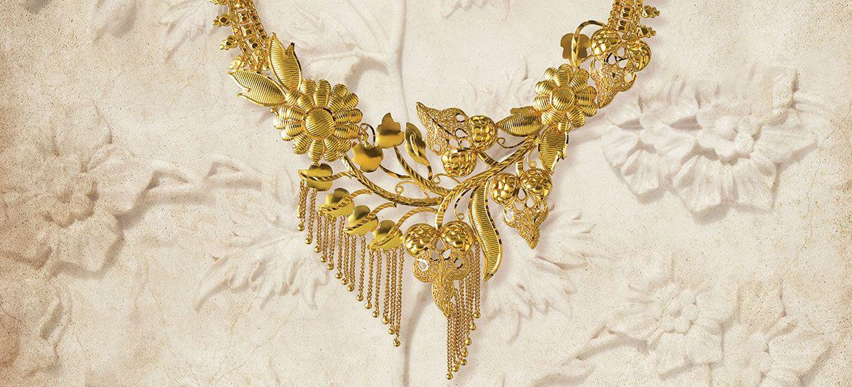 Tanishq Bengali Bride Wedding Jewellery Collection