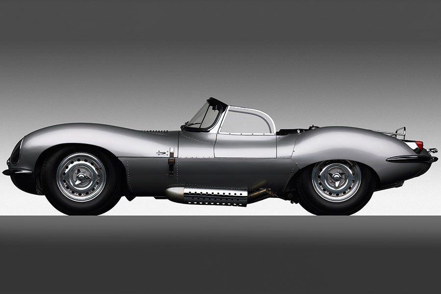 1956 JAGUAR XKSS (RALPH LAUREN\'S VINTAGE CARS) Only 16 D-Type race ...