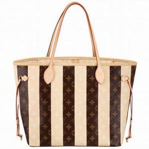 Handbags On Sale. Replica Replica Louis Vuitton Monogram Rayures Neverfull  MM M40560 7abf443191169