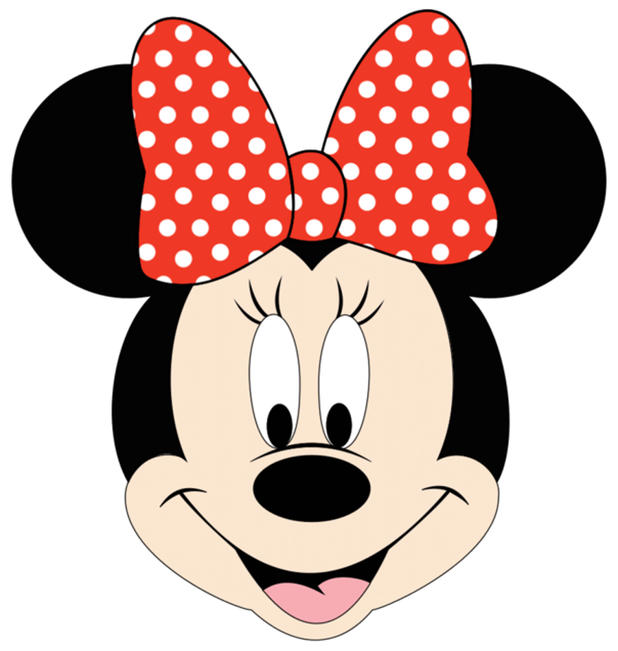 Obsessed image regarding minnie mouse face template printable