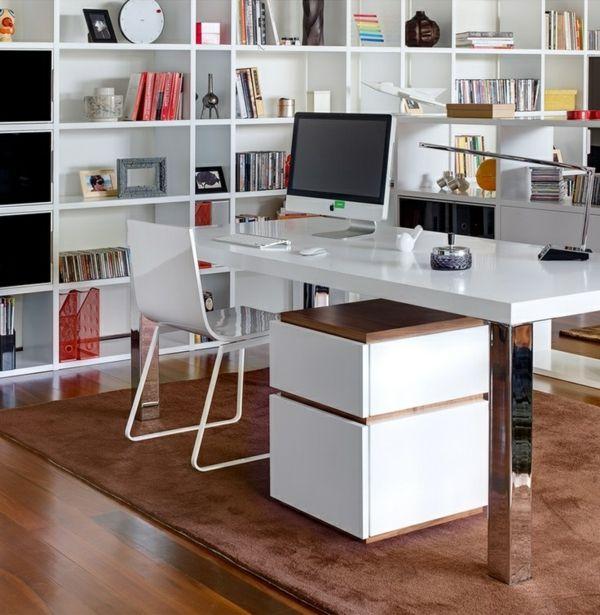 Moderne büroeinrichtung zuhause  computertische pc tische büroeinrichtung moderne büromöbel | Büro ...