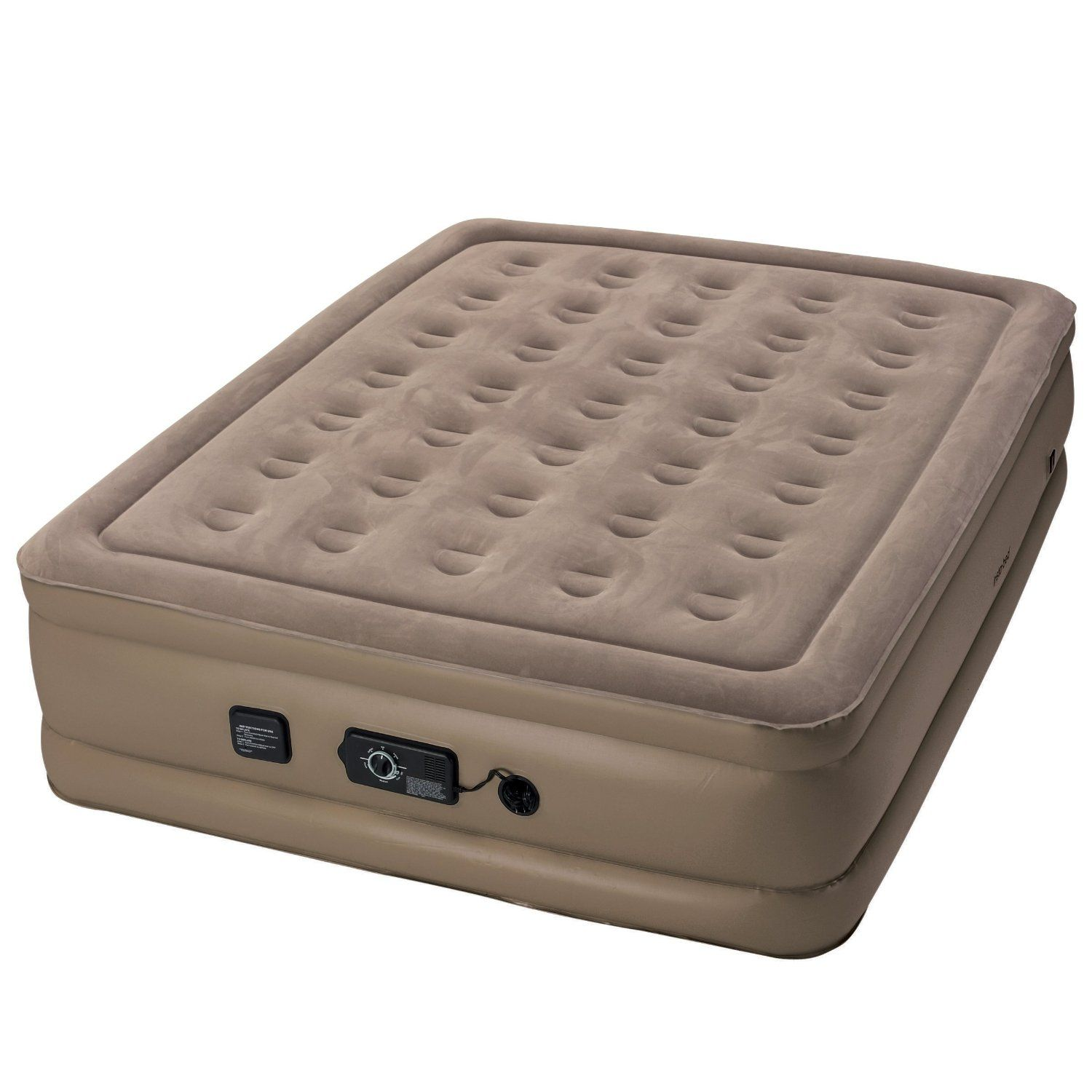 Insta Bed Raised Air Mattress With Never Flat Pump Learn More By