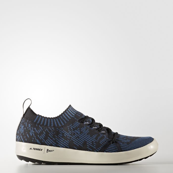 adidas TERREX Climacool Parley Boat Shoes Mens Outdoor