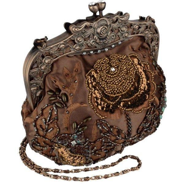 Antique Beaded Rose Handbag