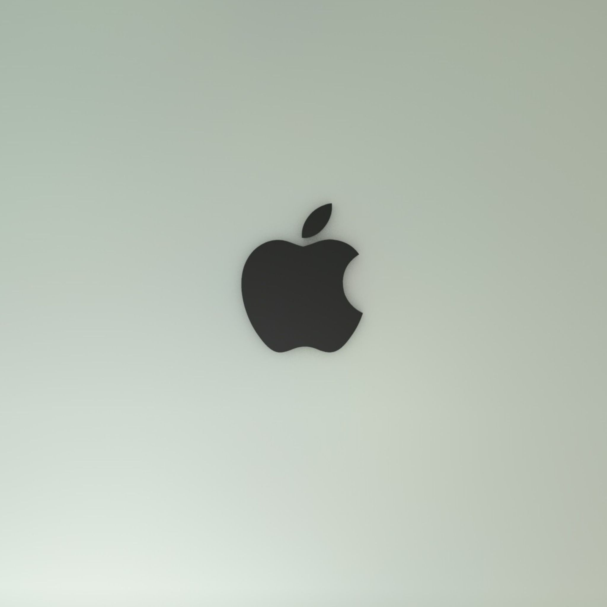 2048x2048 wallpaper apple mac brand background solid