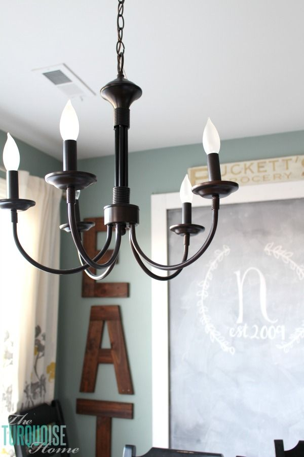 Bel Air 5 Light Chandelier My New Farmhouse For Kitchen Theturquoisehome Com