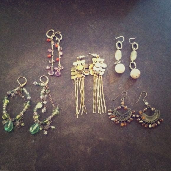 DEAL OF THE DAY! 5 earring bundle 5 Assorted earrings. Accessories