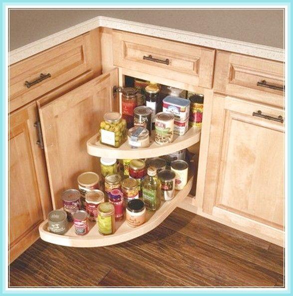 kitchen corner cabinet lazy susan mutfak on kitchen organization lazy susan id=21098
