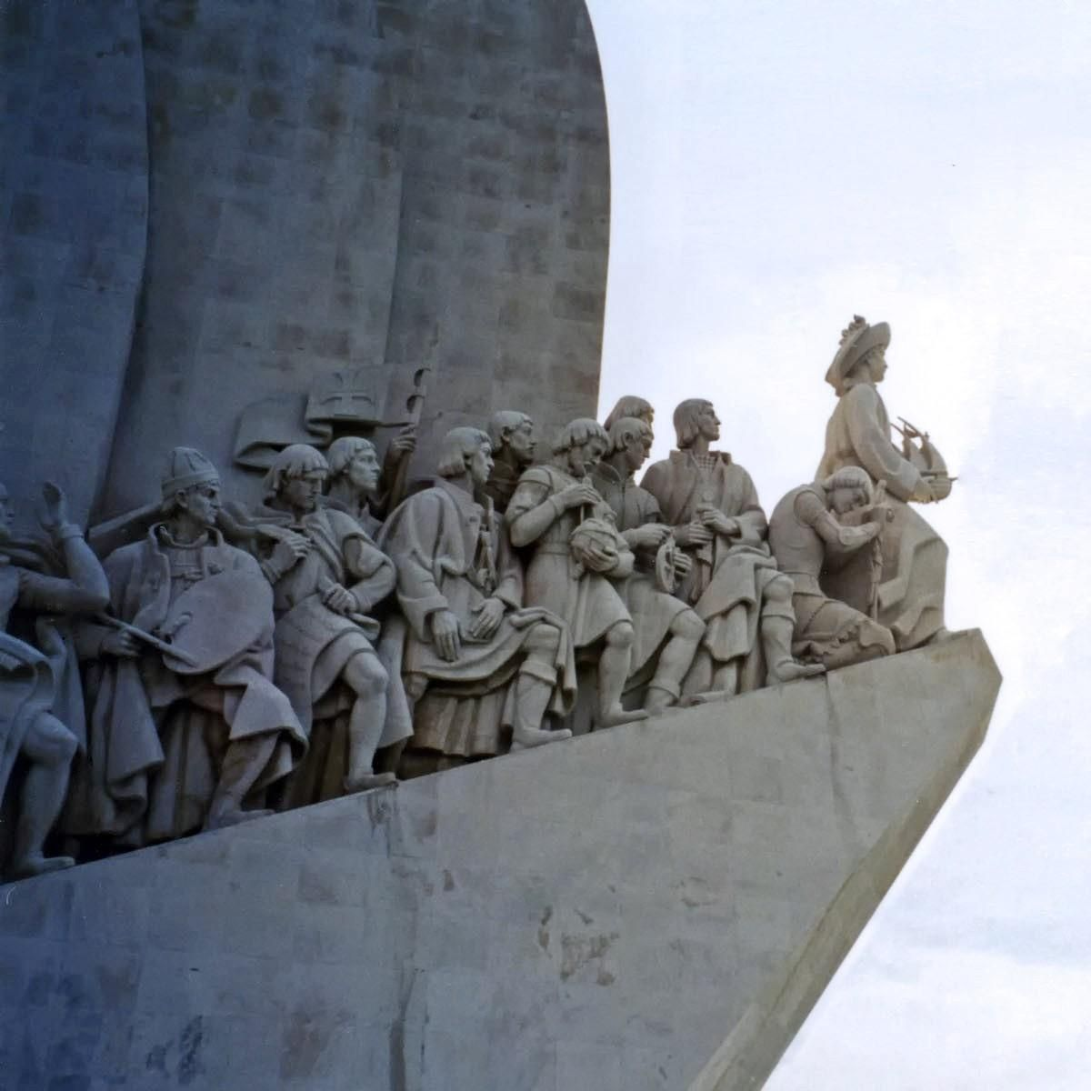 A Detail From The Monument To The Discoveries In Lisbon Which Celebrates The Contributions Of The Portuguese In The Age Of Discovery D Monument Portugal World