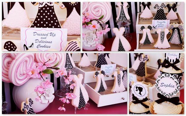 Barbie style theme party