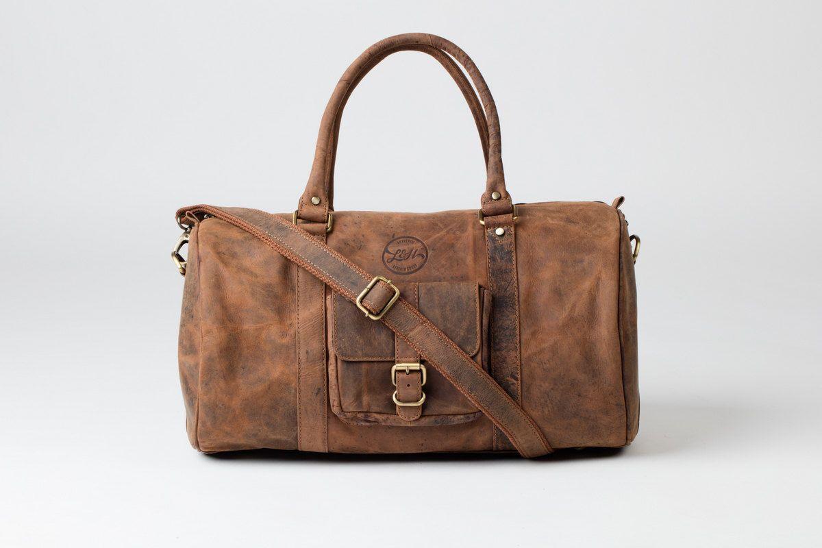 Borsa DUFFLE - Vintage style marrone in pelle Borsone week-end borsone in pelle portare il regalo di bagagli del volo di HOUSEofLH su Etsy https://www.etsy.com/it/listing/257286464/borsa-duffle-vintage-style-marrone-in