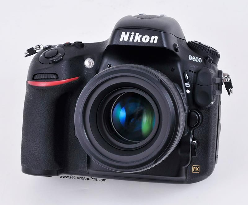 The Nikon D800 with an AF-S Nikkor 50mm f/1.4G lens. A combination guaranteed to bring passion back to your photography.