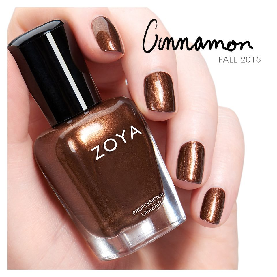 Very Me Metallic Nail Polish Shades: Zoya Cinnamon From The Flair Collection