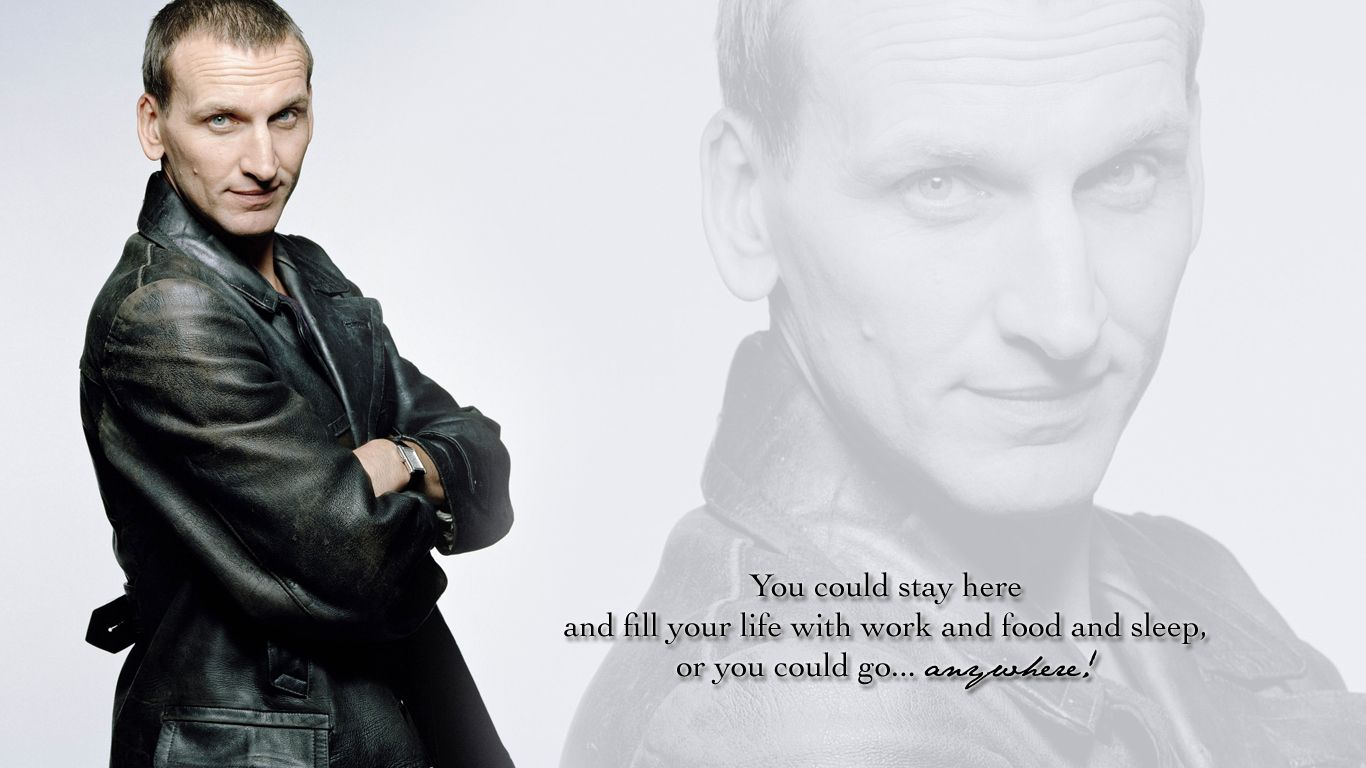 ninth doctor wallpaperby blackysmith on deviantart dr