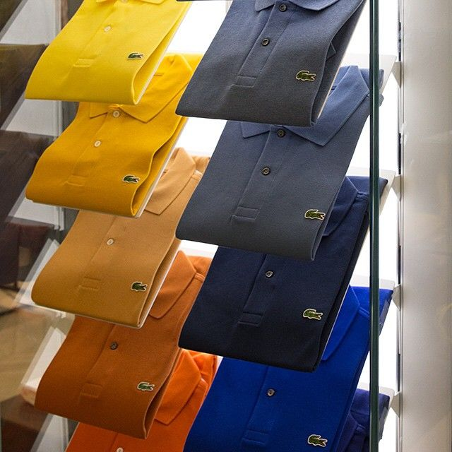Available in three different fits and over 40 different colors, you can t  go wrong with a Lacoste polo shirt this  FathersDay. f7de43d1e8