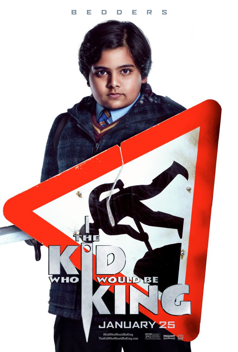 The Kid Who Would Be King Poster for Bedders | Movie Posters