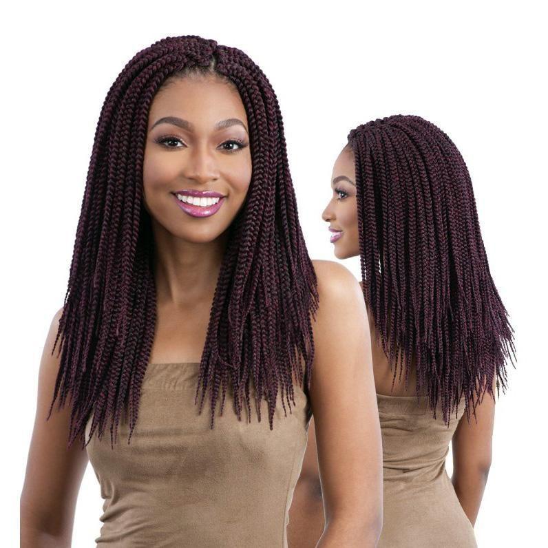 Freetress Braid Crochet Hair  Medium Box Braid 14  HAIRSOFLY SHOP Freetress Braid Crochet Hair  Medium Box Braid 14  HAIRSOFLY SHOP