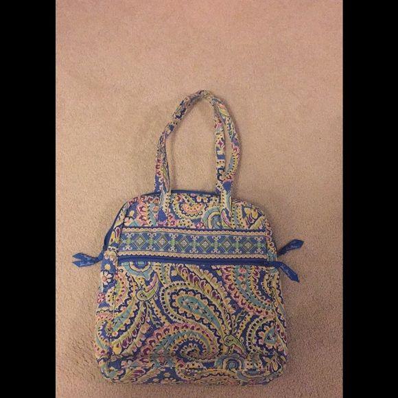 Vera Bradley purse- super cute Spring pattern Vera Bradley purse Vera Bradley Bags Totes