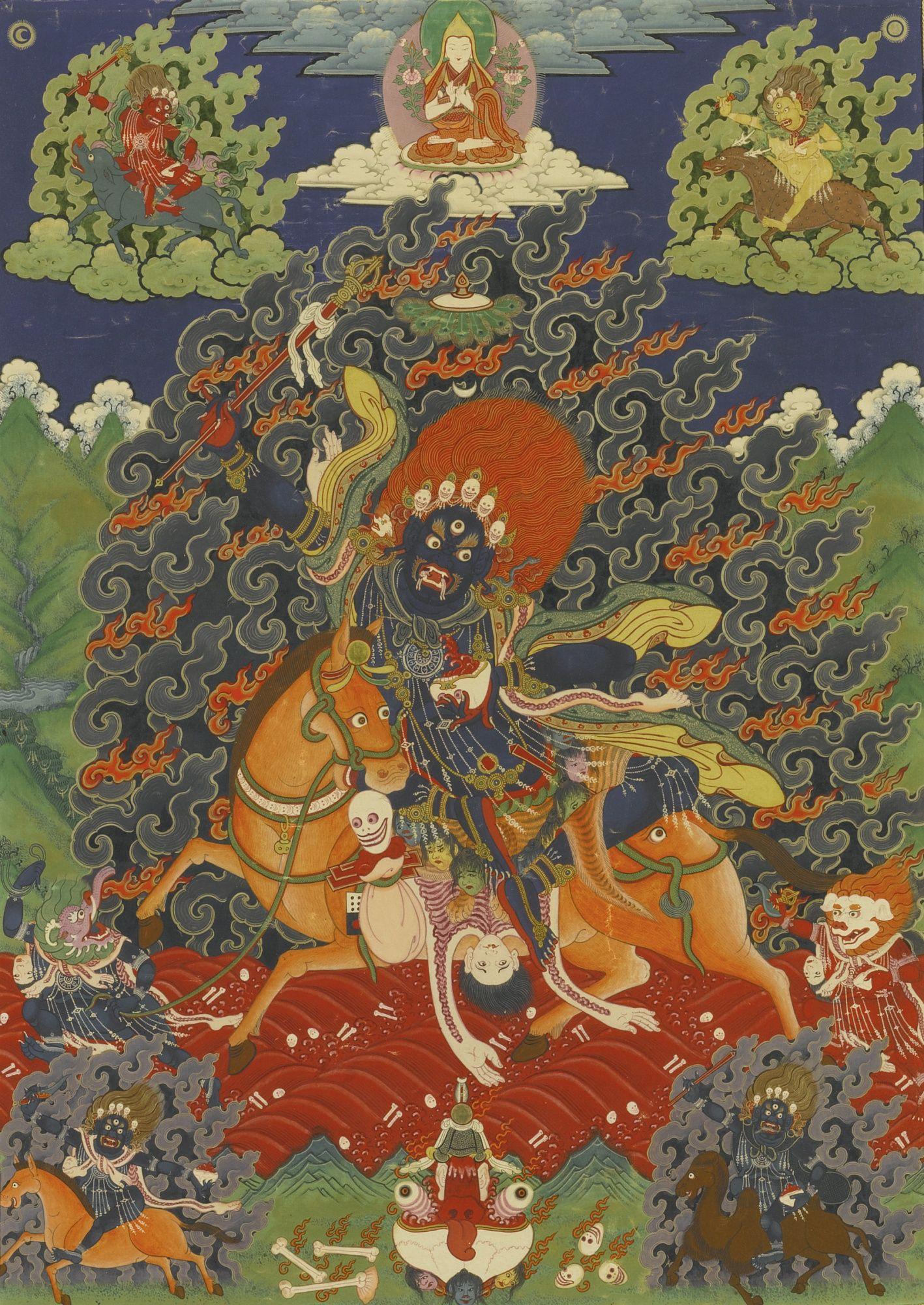 Shri Devi in her current manifestation is a Tibetan form of an ...