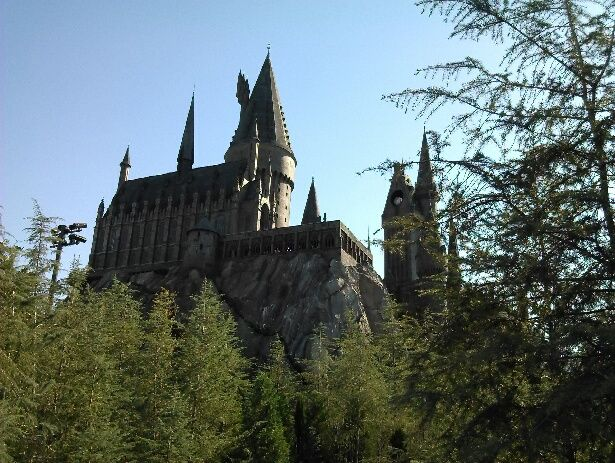 My field trip to universal that's the Harry potter castle it's also like a 3D ride but it's still a ride it's pretty fun an u get to see the inside of the castle so its pretty cool