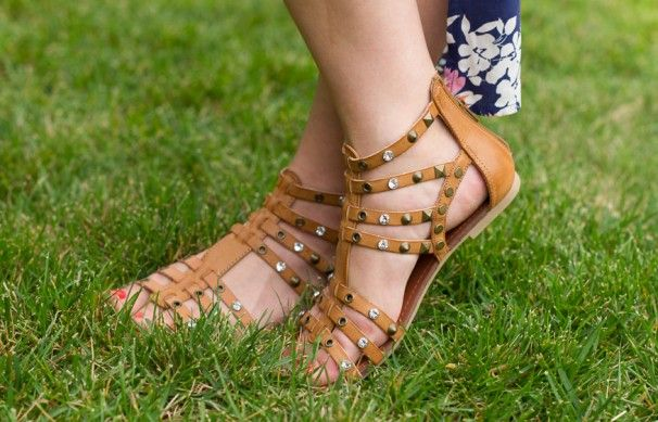 4c86f83af130 Selena Gomez Dream Out Loud gladiator sandals from Kmart!