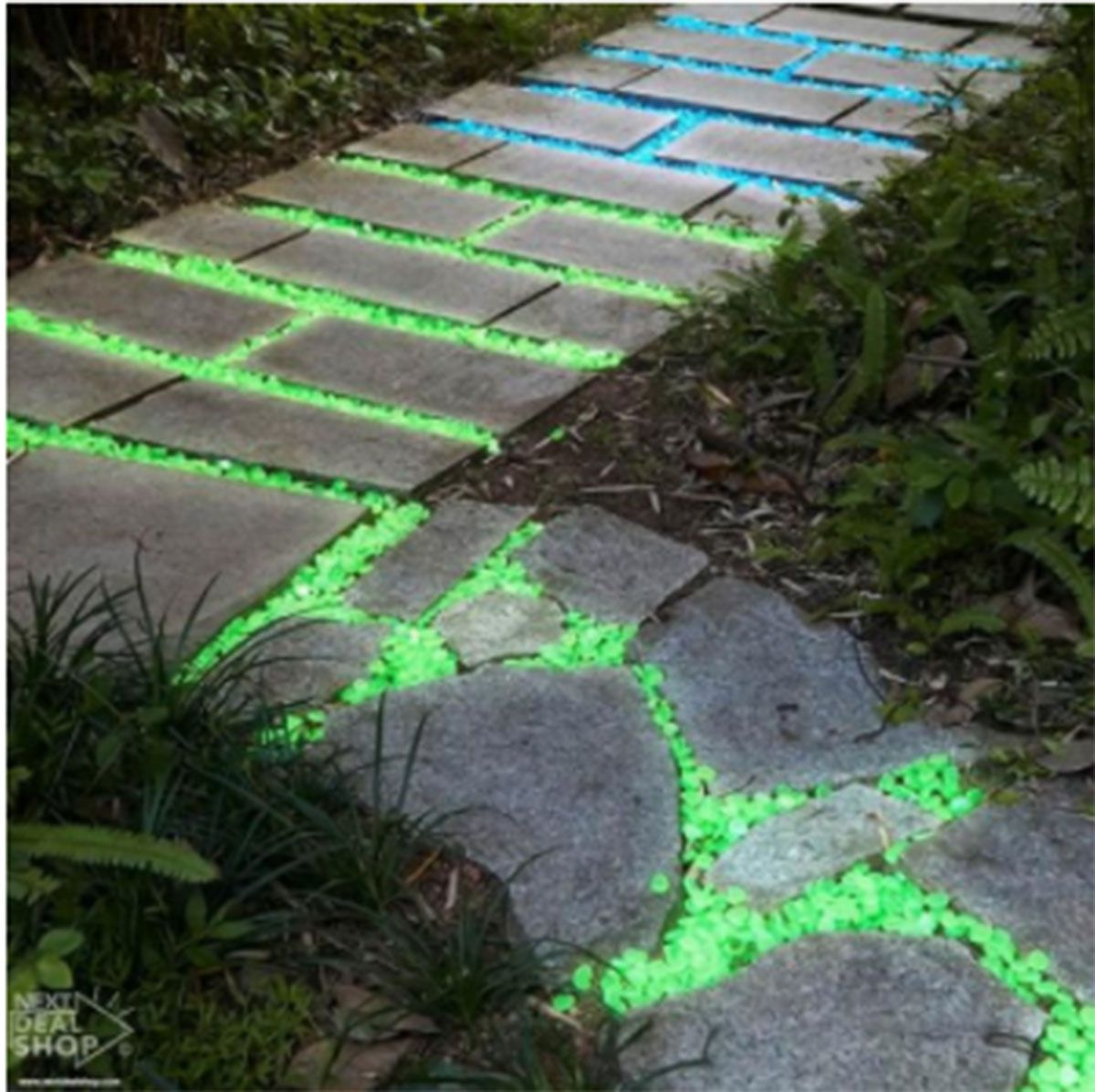 Image result for glow stones for walkways