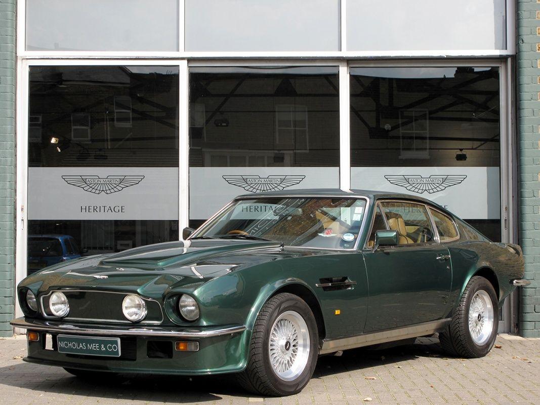 1988 Aston Martin V8 Vantage X Pack Aston Martin V8 Aston Martin Cars Aston Martin