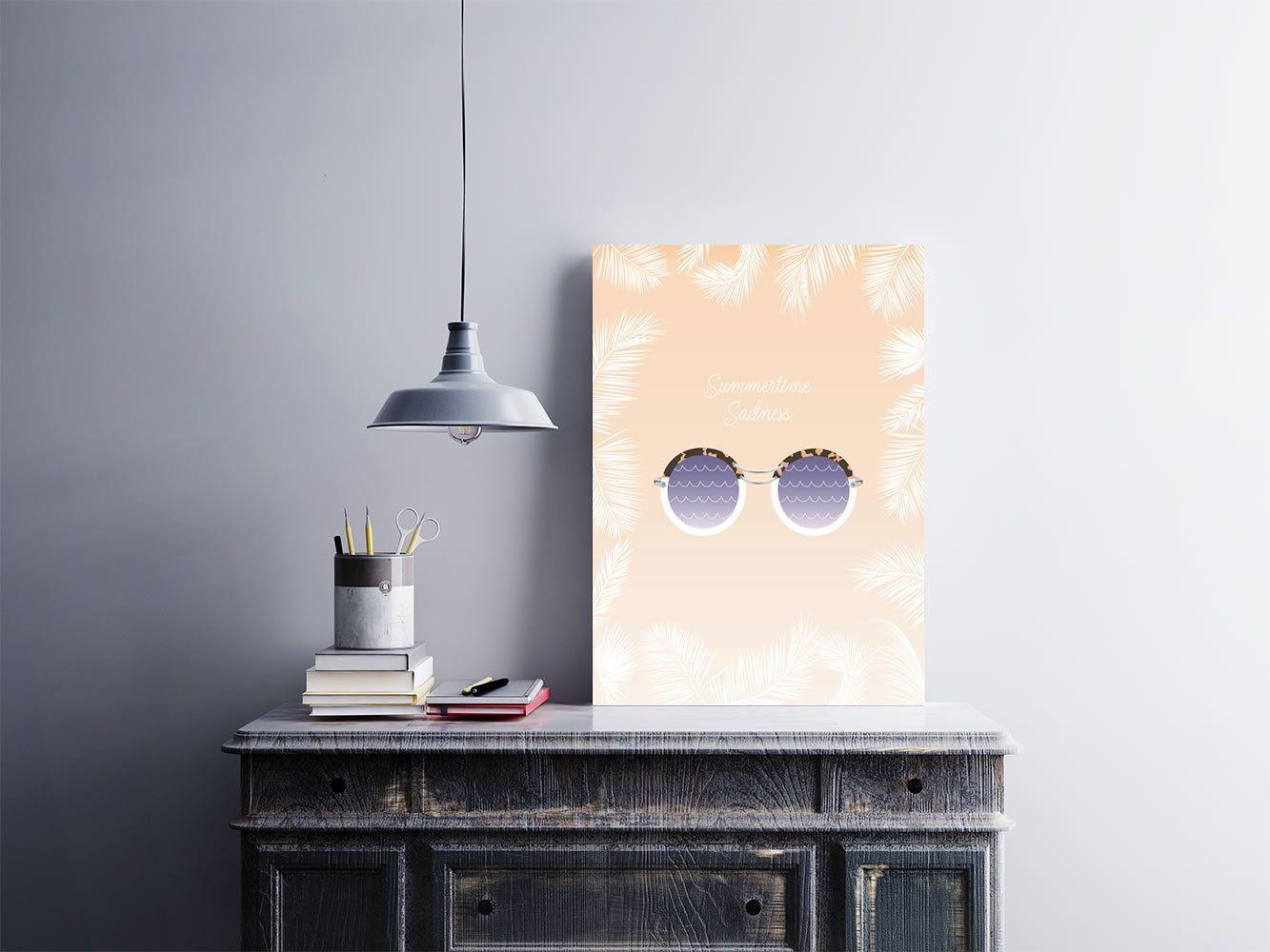 """Placa decorativa """"Summertime Sadness""""  Temos quadros com moldura e vidro protetor e placas decorativas em MDF.  Visite nossa loja e conheça nossos diversos modelos.  Loja virtual: www.arteemposter.com.br  Facebook: fb.com/arteemposter  Instagram: instagram.com/rogergon1975  #placa #adesivo #poster #quadro #vidro #parede #moldura"""
