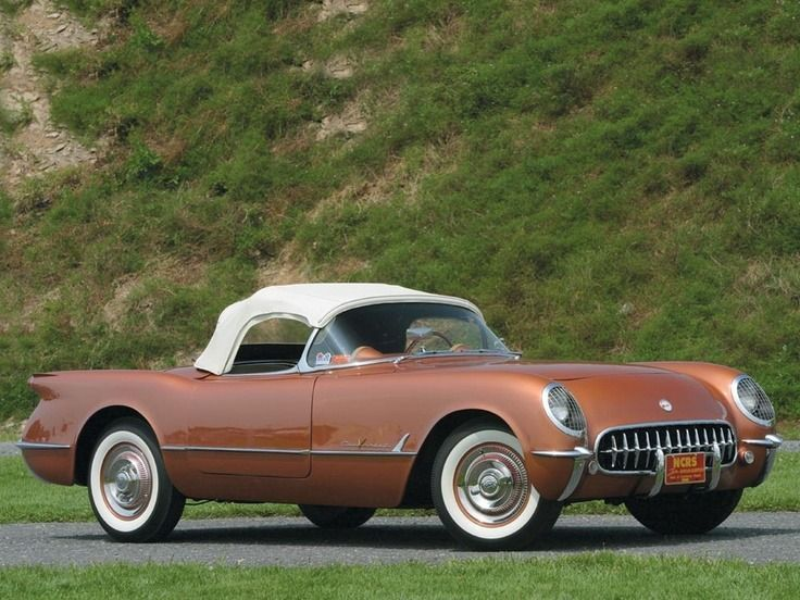 1955 Chevrolet Corvette in Corvette Copper  | Der Oldtimer Feed  Oldtimer und Ol…