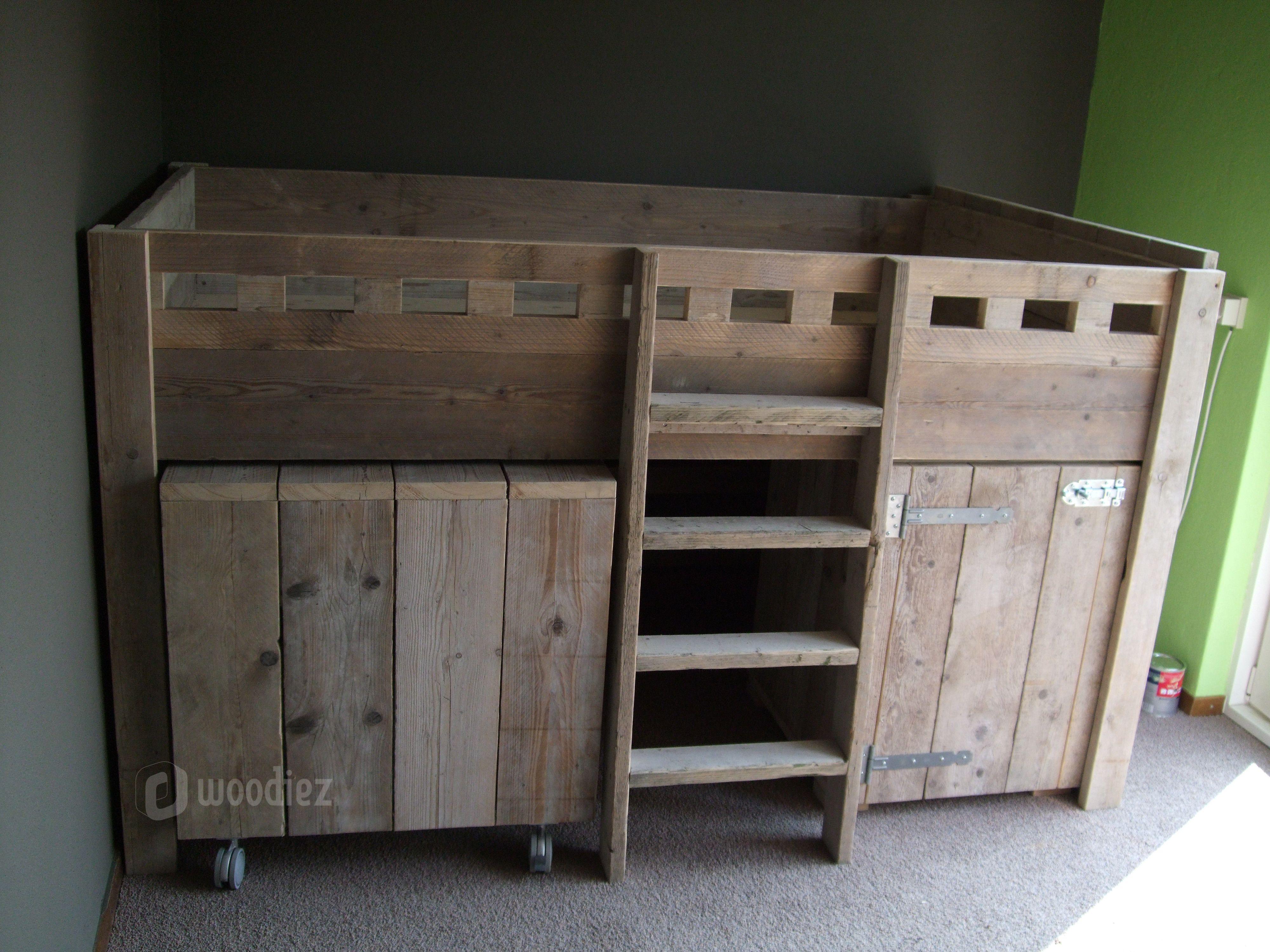 Bureau En Kast Ineen : Steigerhouten meubels op maat gemaakt kopen in 2018 verkoop