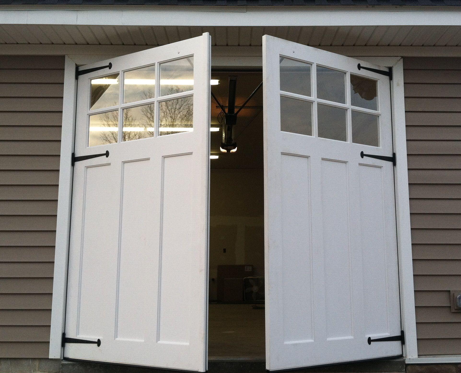 Swing Out Carriage Doors Www Wood Garage Doors Com Diy Garage
