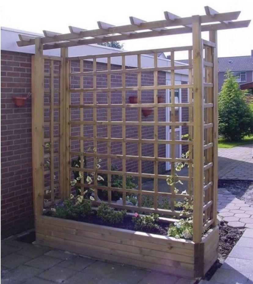 Trellis Planter Box DIY Easy Video Instructions Wooden