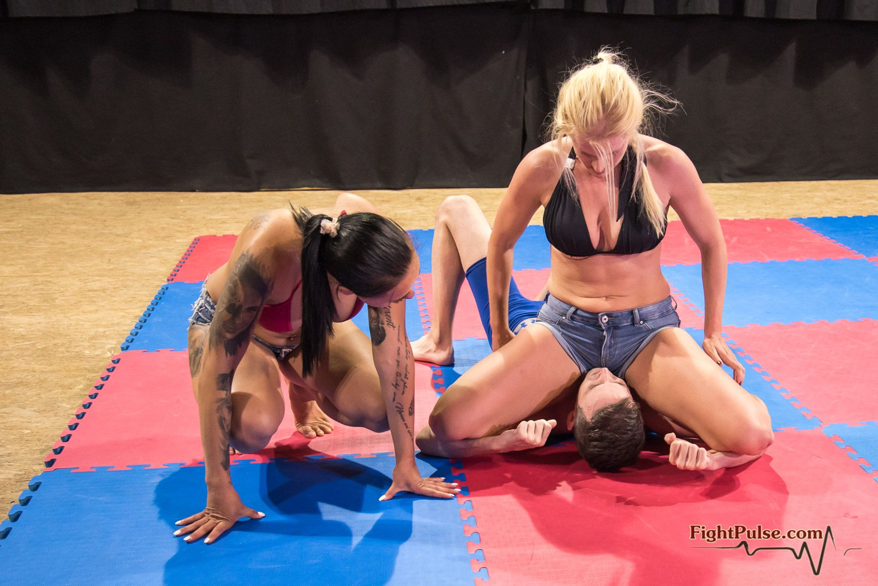 Mixed wrestling 2