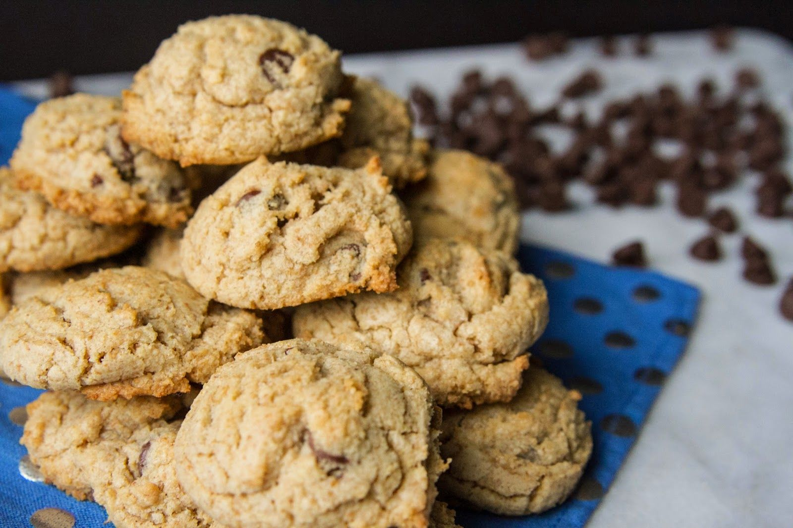 Whole Wheat Chocolate Chip Cookies and Sea Salt | Swim, Eat, Repeat