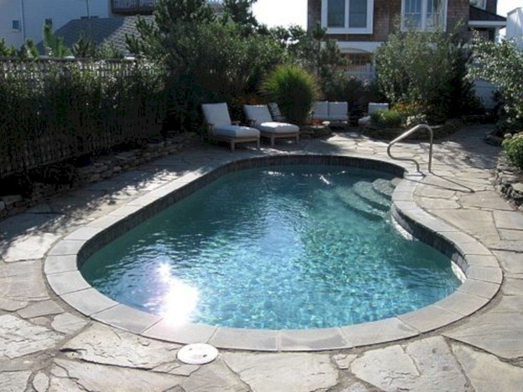 Top Trends Small Pools For Your Backyard 08 Small Pool Design Small Inground Pool Kidney Shaped Pool