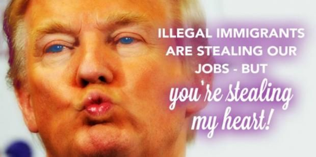 14 Donald Trump Digital Valentine's Day Cards And Funny Memes   YourTango