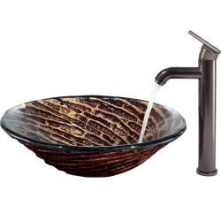 @Overstock   This Vigo Vessel Sink Is Made Of A Tempered, Hand Painted