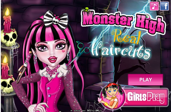 Monster High Draculaura Haircut Game Monster High Games