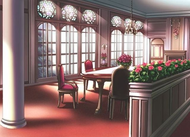 Dining Room Decoration Anime Dining Room Background
